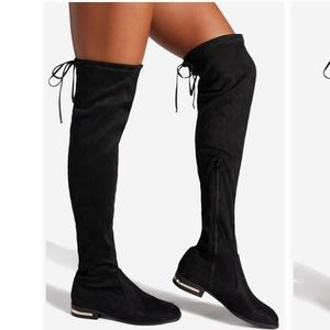 BWIB Machele Stretch Over The Knee Boot